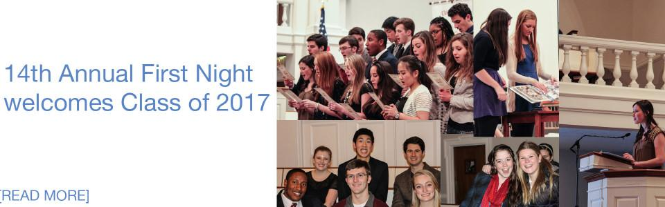 14th Annual First Night welcomes Class of 2017