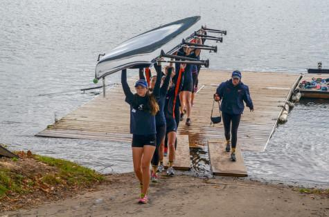 Early Competition Prepares First-Year Rowers for season ahead: Women's Rowing Team sweeps third, fourth and fifth place