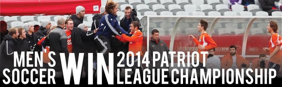 Men's Soccer wins Patriot League Title
