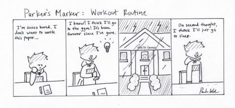 Parker's Marker: Workout Routine