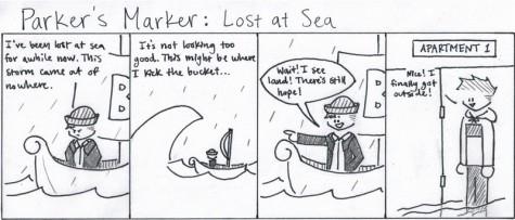 Parker's Marker: Lost at Sea