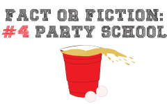 Fact or faction: Number four party school