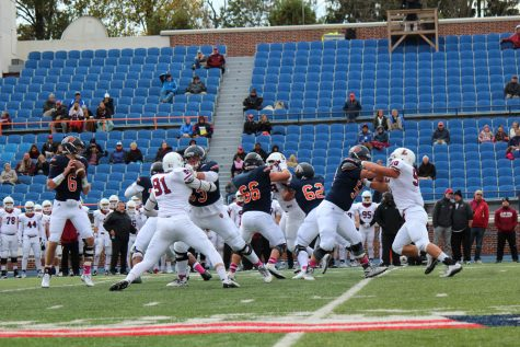 Homecoming win brings football to 2-1 in conference