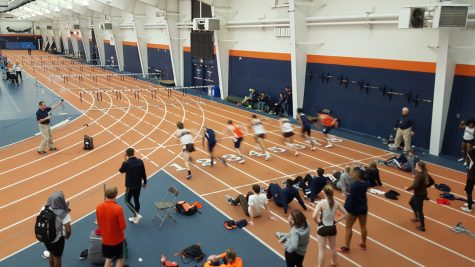 Track and field dominates Bucknell Tune-Up in preparation for Patriot League Championships