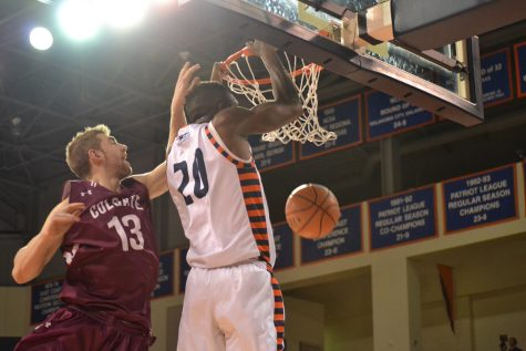 Men's basketball bounces back from Lehigh loss with home win over Colgate