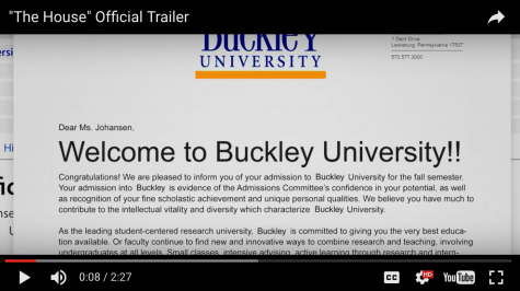 New Ferrell, Poehler comedy features parody 'Buckley University'