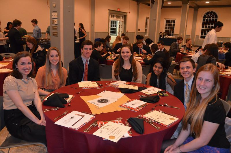Alpha Lambda Delta Ceremony inducts First-Year Students