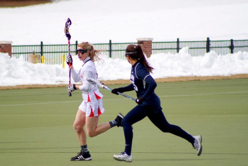 Early run sinks womens lacrosse 10-4 to Villanova