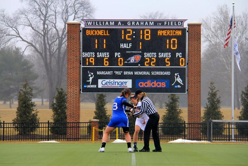 Bench Boosts Women's Lacrosse to 11-10 Win against American; Miller Scores Six in 22-8 rout of Howard
