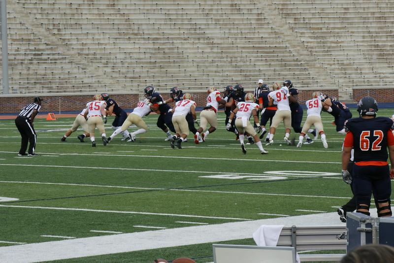 Balanced Play Guides Football to 42-38 Season-Opening Win over VMI