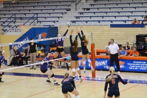 38-36: Epic final set secures first volleyball home win