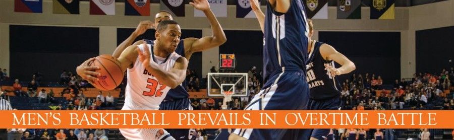 Men's Basketball Prevails in Overtime Battle with Fairfield