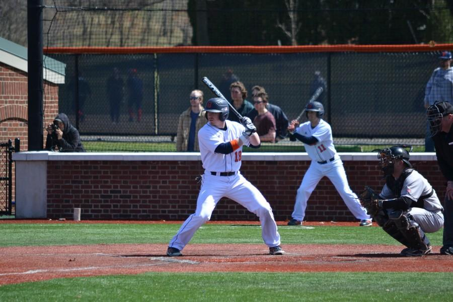 34 run series helps baseball win three of four against Army