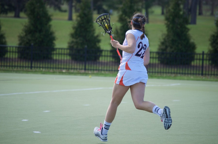 Double defeat:   Womens lacrosse falls to Johns Hopkins, Columbia