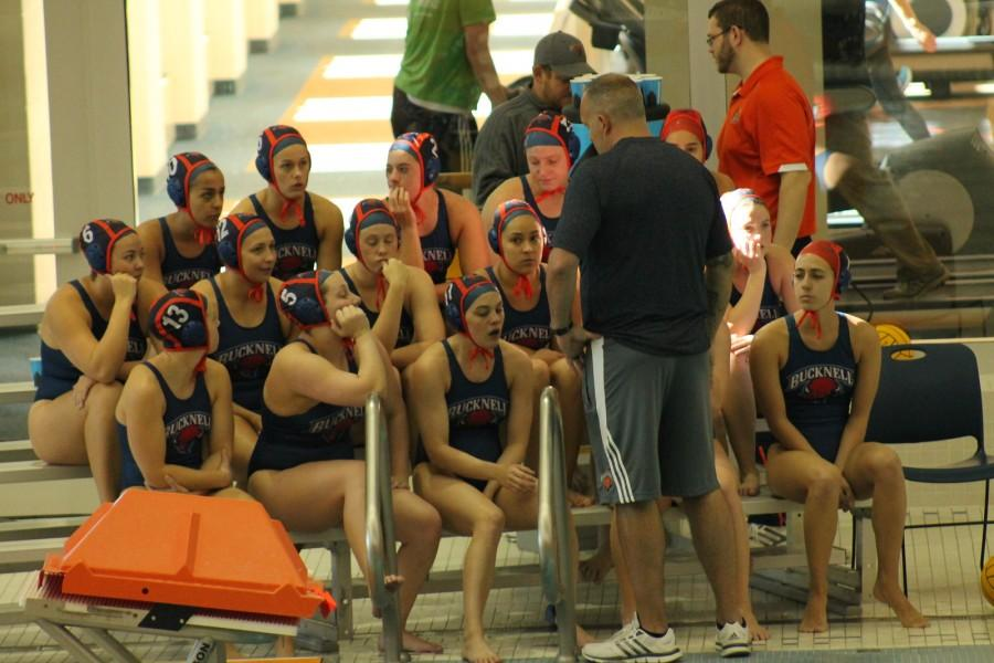 Womens water polo plays nationally-televised exhibition games