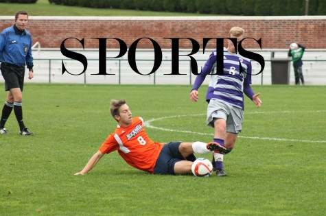 Sixth overtime game in ten contest ends in 1-1 tie for men's soccer against Holy Cross