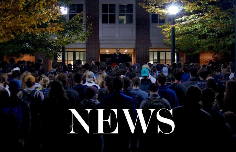 Take Back the Night rallies against sexual violence on campus