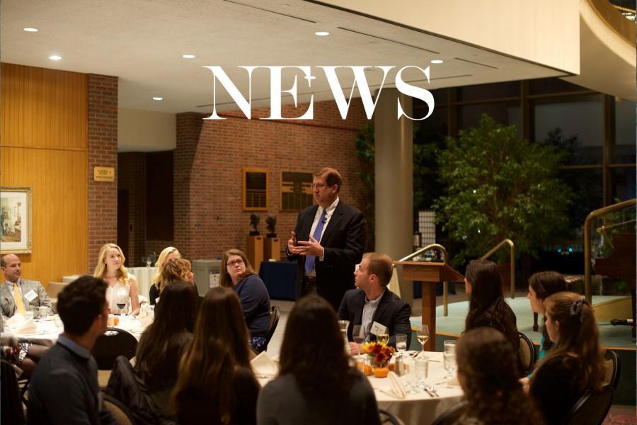 Second annual student leadership dinner focuses on philanthropy