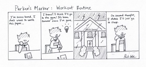 Parker's Marker: Workout Routine