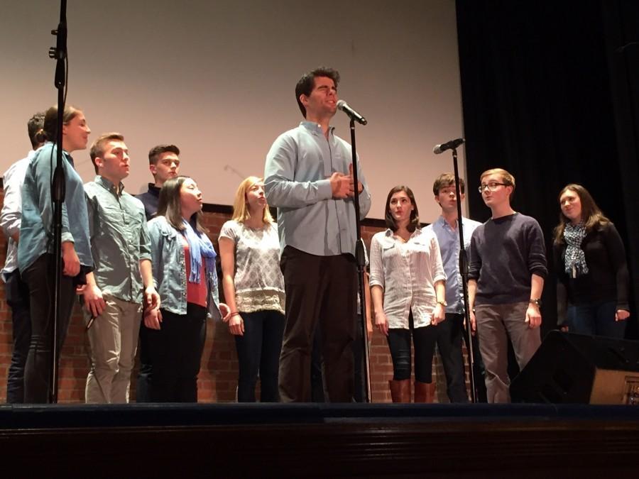 A capella groups unite for B.A.C.E.S