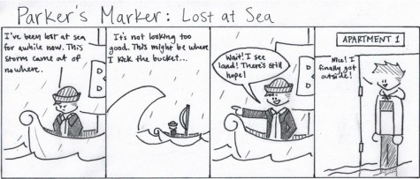 Parker's Marker: Lost at Sea