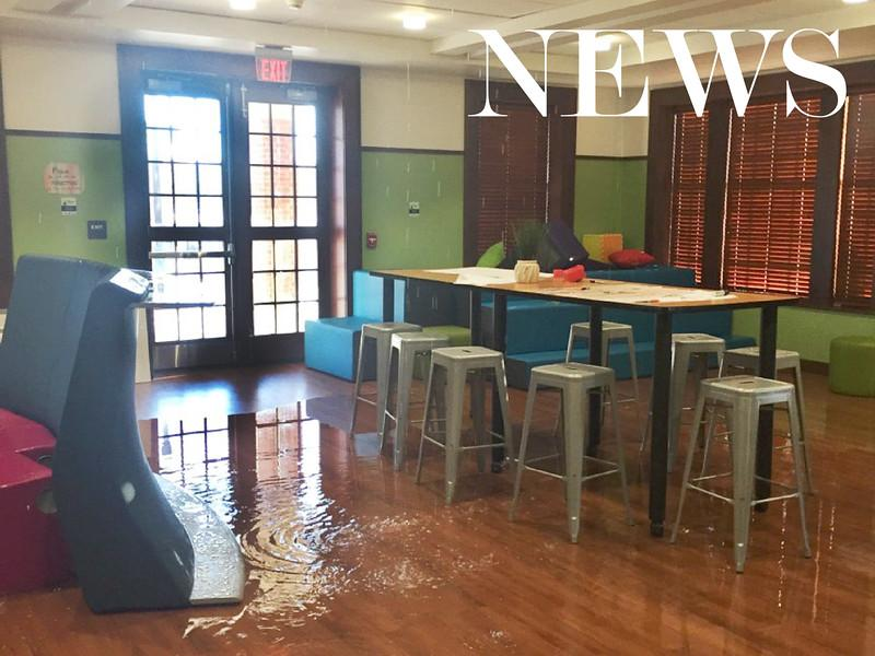 Flooding damages new South Campus Apartments
