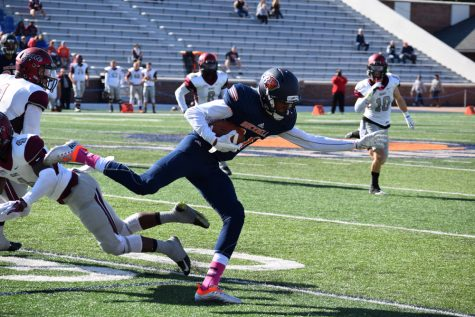 Football falls short to Colgate 27-7