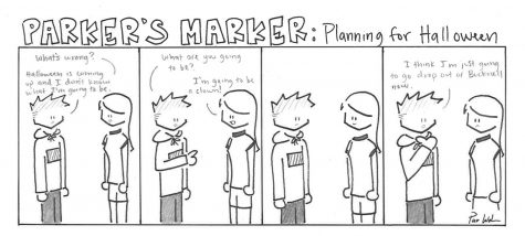 Parker's Marker: Planning for Halloween