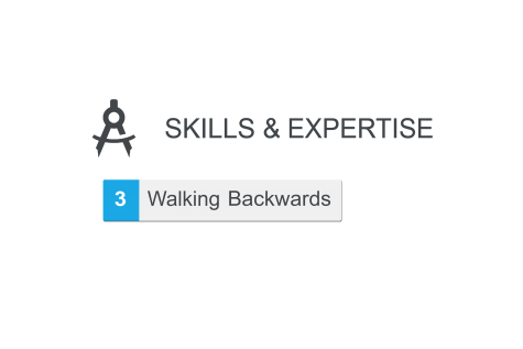 Tour guide adds 'walking backwards' to skills section of LinkedIn