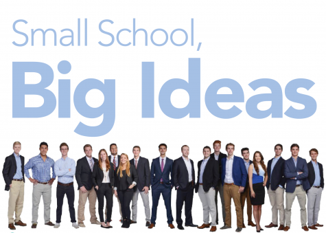 Small school, big ideas: BizPitch 2016