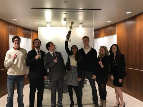 Order in the court: Mock trial team places third at Regionals