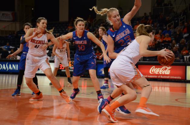 Women's basketball advances to league championship
