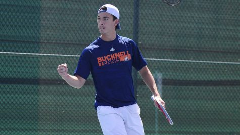 Bison tennis teams secure crucial Patriot League victories
