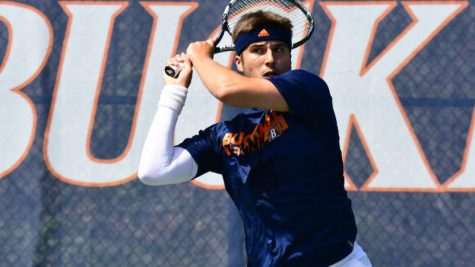 Men's tennis closes out regular season with three consecutive matches
