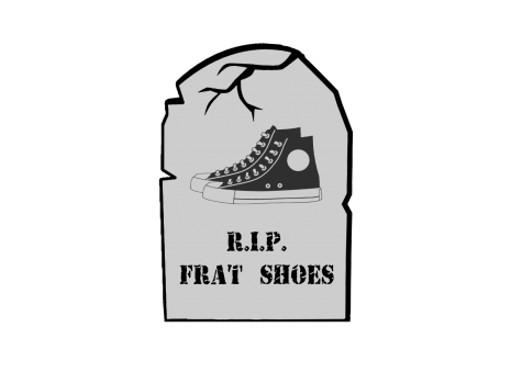An obituary for frat shoes