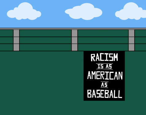 Protesters' banner rings true, racism is as American as baseball