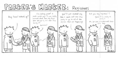 Parker's Marker: Registers