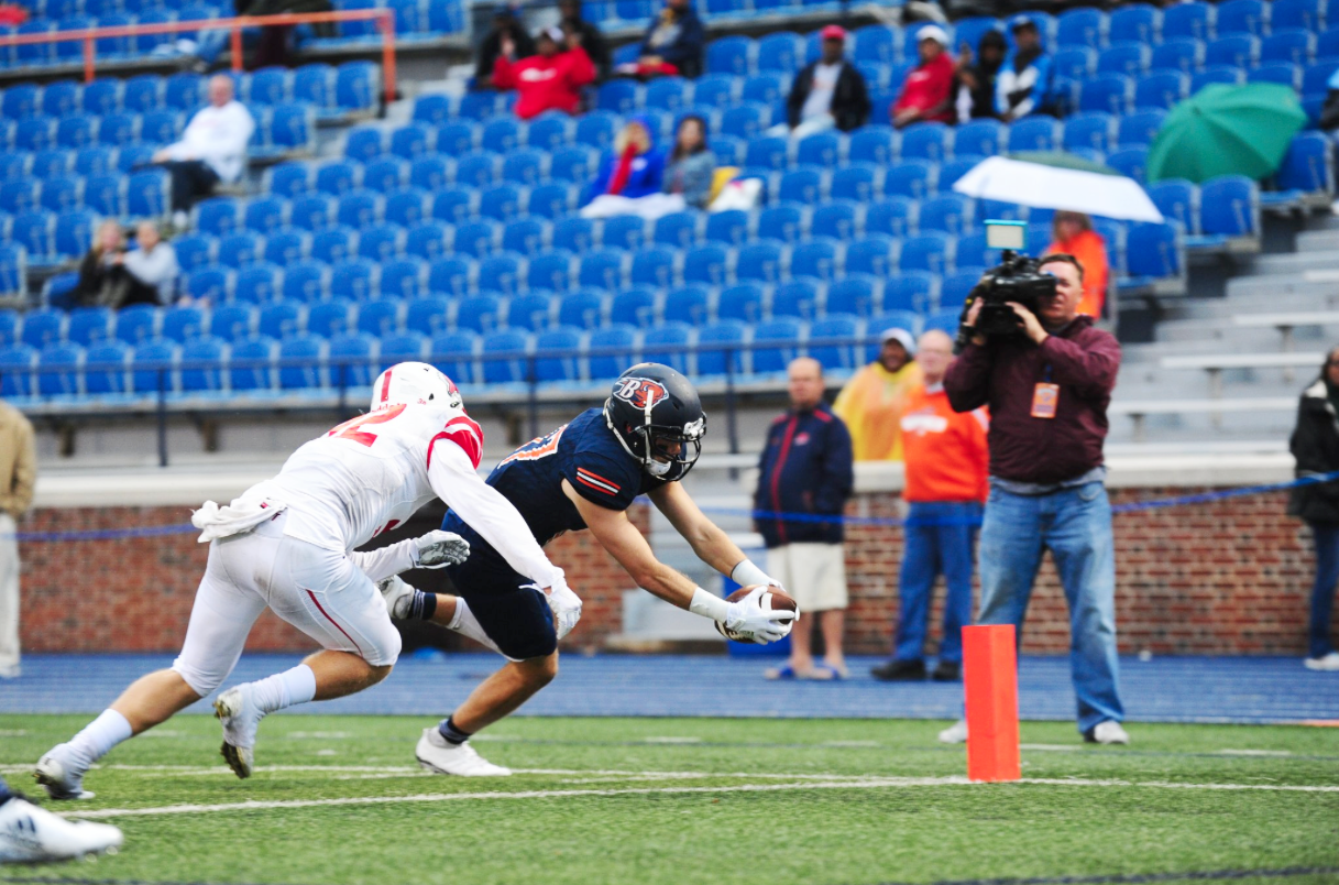 Bison football starts season with commanding 45-6 rout