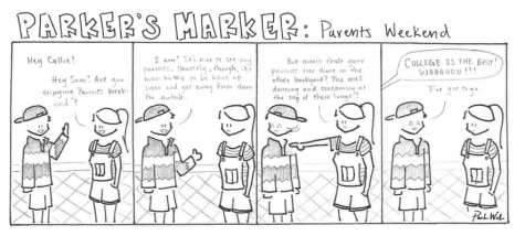 Parker's Marker: Parent's Weekend