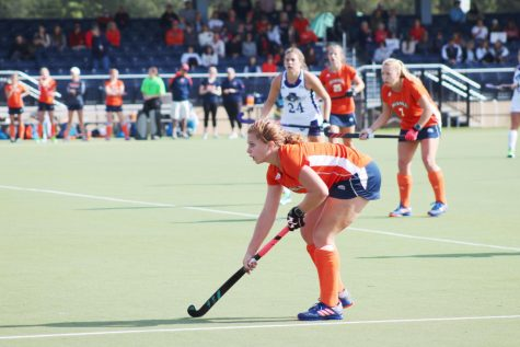 Field hockey goes 2-0, securing a spot in the Patriot League Tournament
