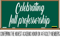 Celebrating full professorship: Conferring the highest academic honor on 14 faculty members