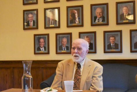 Local legend Walt Everett recounts forgiving man who murdered his son