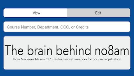 The brain behind No8am
