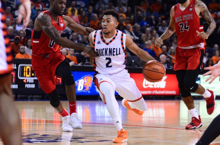 Men's basketball three-game winning streak snapped