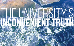 Changing the culture: the University's inconvenient truth