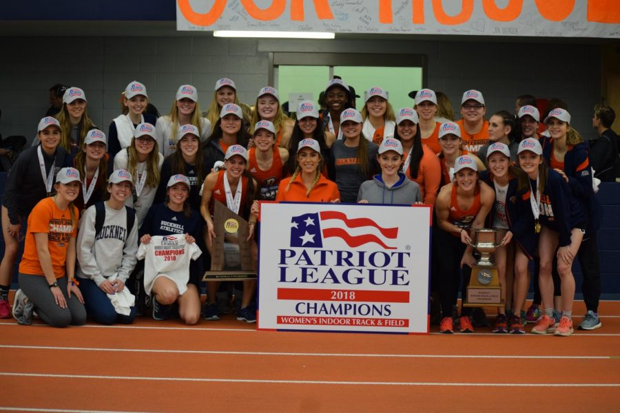 Women's track and field captures League Championship, men finish third