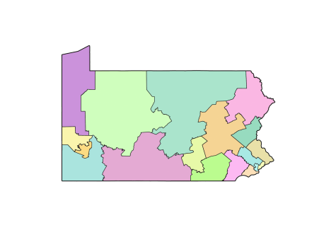 PA plots new congressional district lines to overturn Republican gerrymander