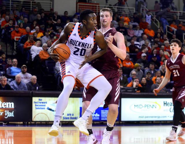 Men's basketball beats Lafayette, breaks win streak at Lehigh