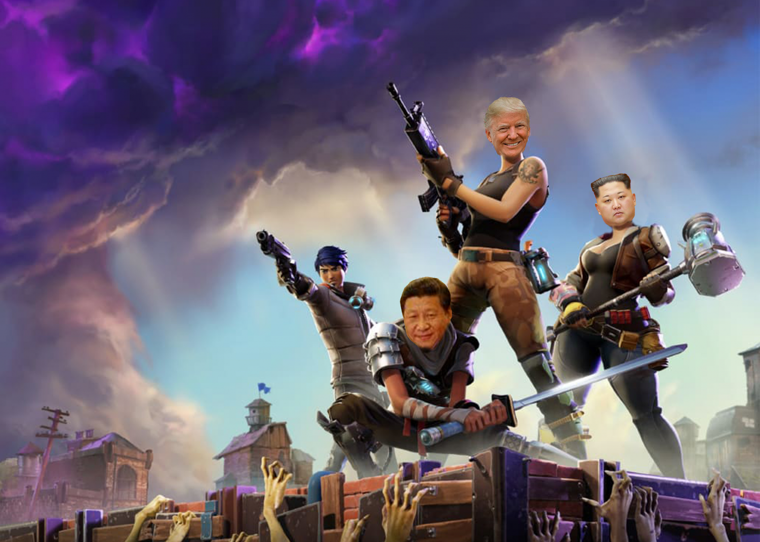 Donald Trump Twitter Fortnite Trump Invites Leaders Of China And North Korea To Play Squads On Fortnite The Bucknellian