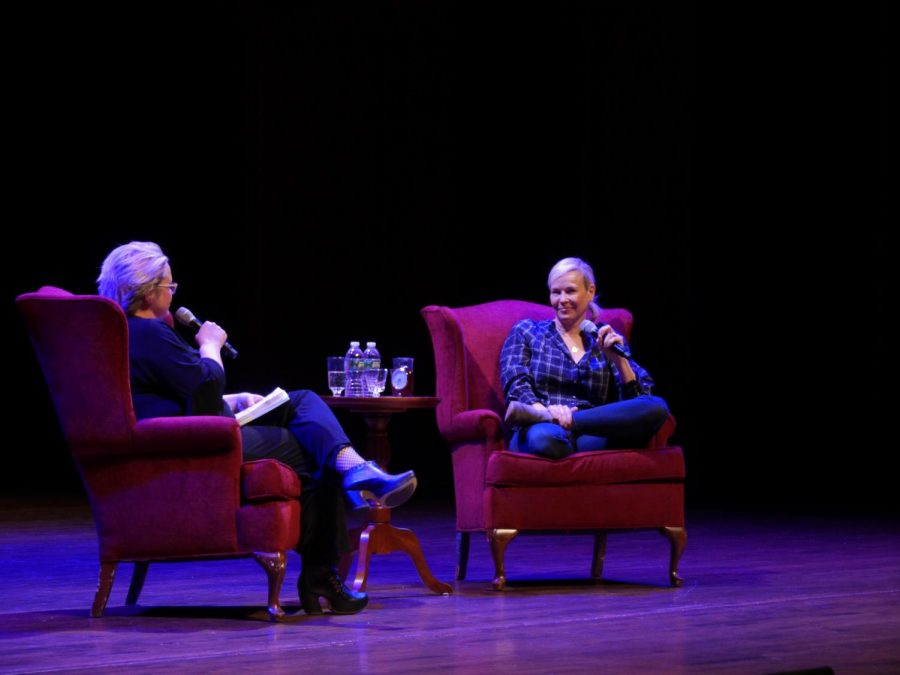 Chelsea+Handler+brings+message+of+political+activism+to+campus